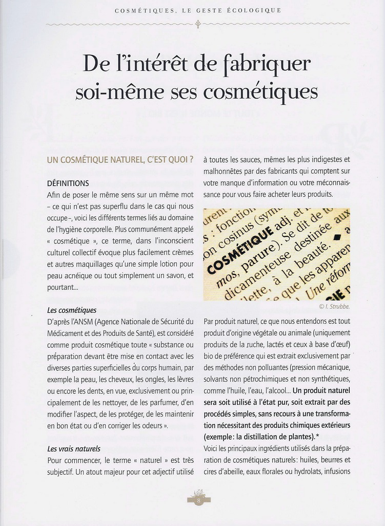 Dentifrices, shampooings, pommades et cosmétiques..